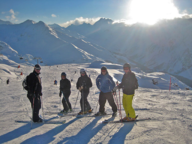 Greetings from Ischgl